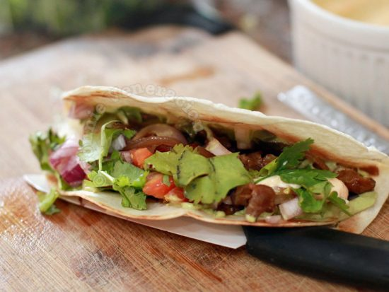 There is no strict formula for making a good taco