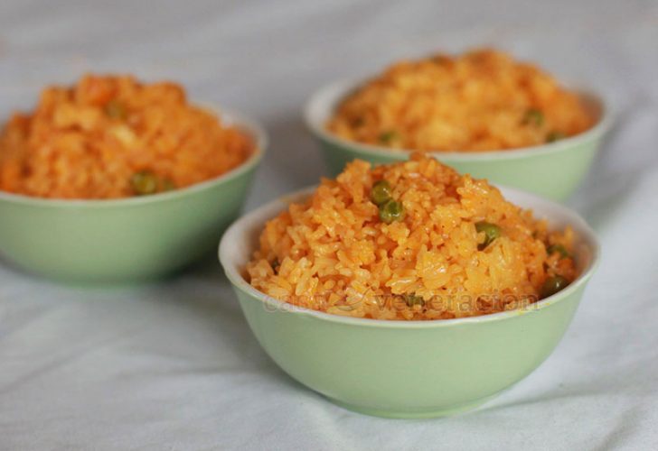 Arroz Amarillo (Mexican Yellow Rice)