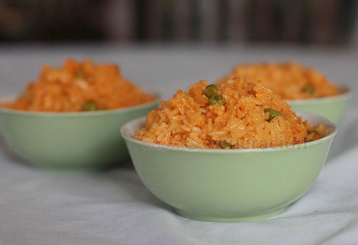 Arroz Amarillo (Mexican Yellow Rice) recipe