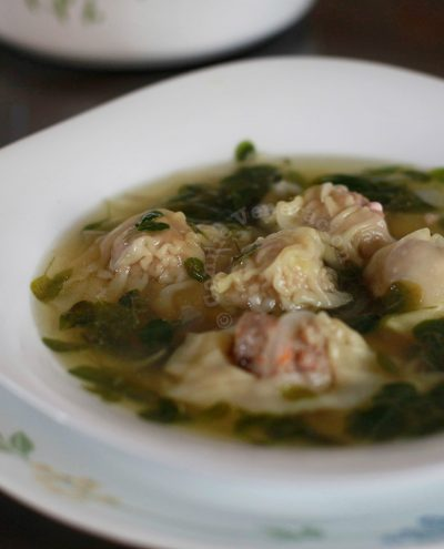 Pancit Molo (or is it Molo soup?)