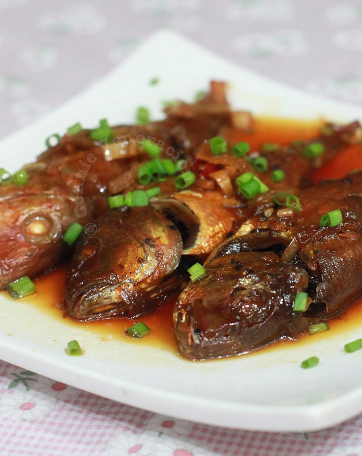 Pressure-cooked Sweet and Sour Fish