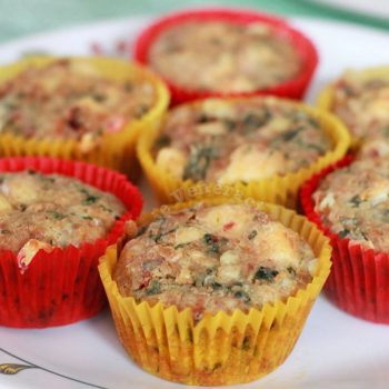 Cheesy Savory Muffins With Sausage Meat