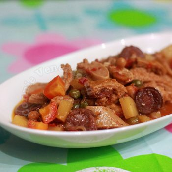 Callos: Beef Tripe and Leg Stew