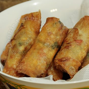 Bean Sprouts Spring Rolls