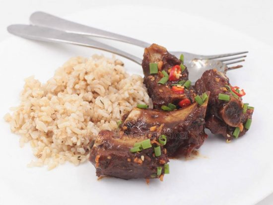Pork Ribs With Black Beans and Chili Sauce
