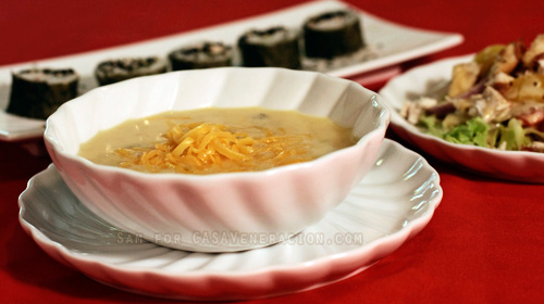 casaveneracion.com Potato and cheese soup