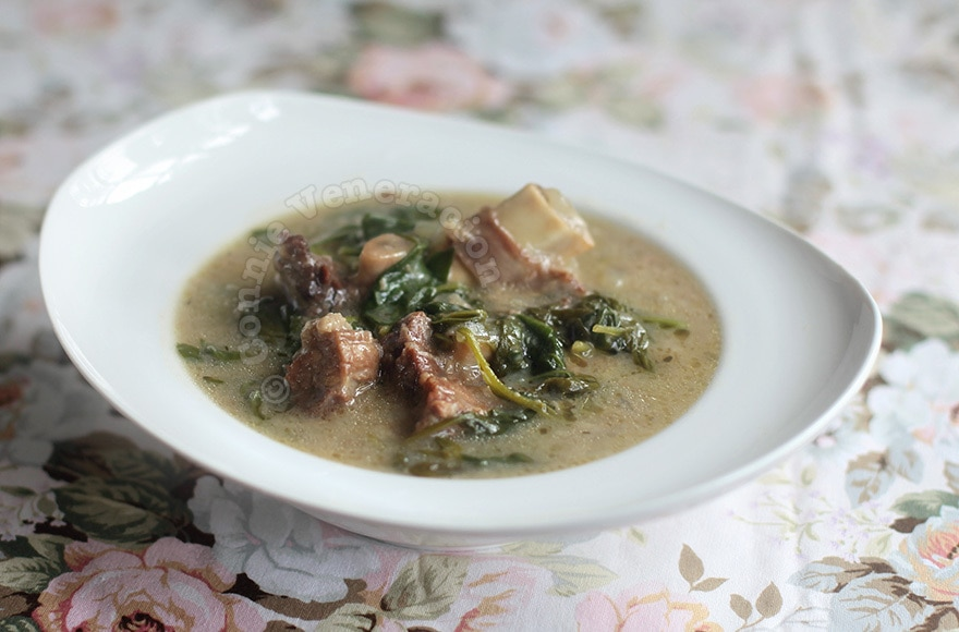 Beef in White Wine Stew | casaveneracion.com