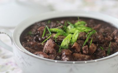 Dinuguan (Filipino pork and blood stew)