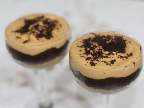 Dulce de Leche and Chocolate Cookie Trifle