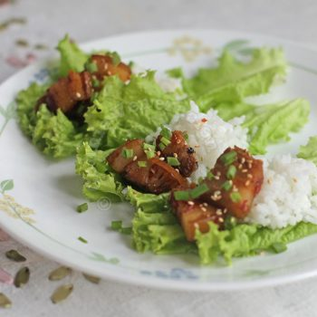 Doejibulgogi (Korean spicy stir-fried pork)