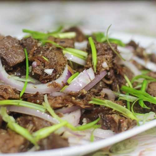Lengua (Ox Tongue) Salpicao