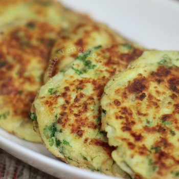 .G.I.F. mashed potato pancakes