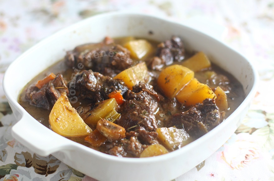Beef short ribs stew with fruity red wine   casaveneracion.com