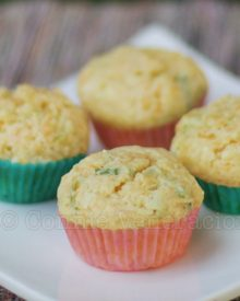 Cheddar and scallion muffins