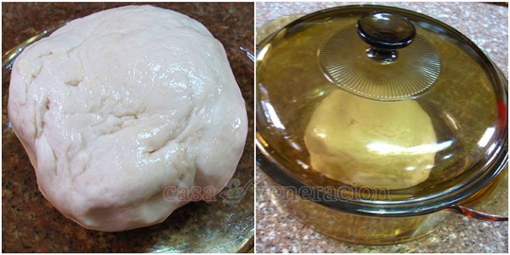 Makes buns and loaf bread using one basic bread dough recipe. With step-by-step illustration. No electric mixer nor fancy bread machine needed.