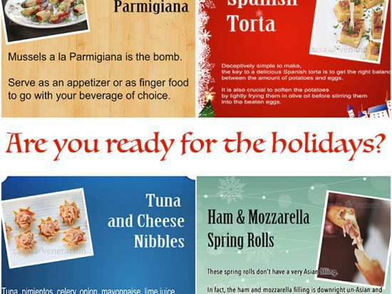 12 Days of Christmas Appetizers and Finger Food