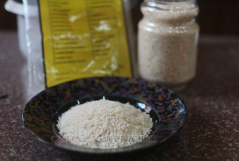 Basmati rice: preferred in South Asian and Middle Eastern cooking