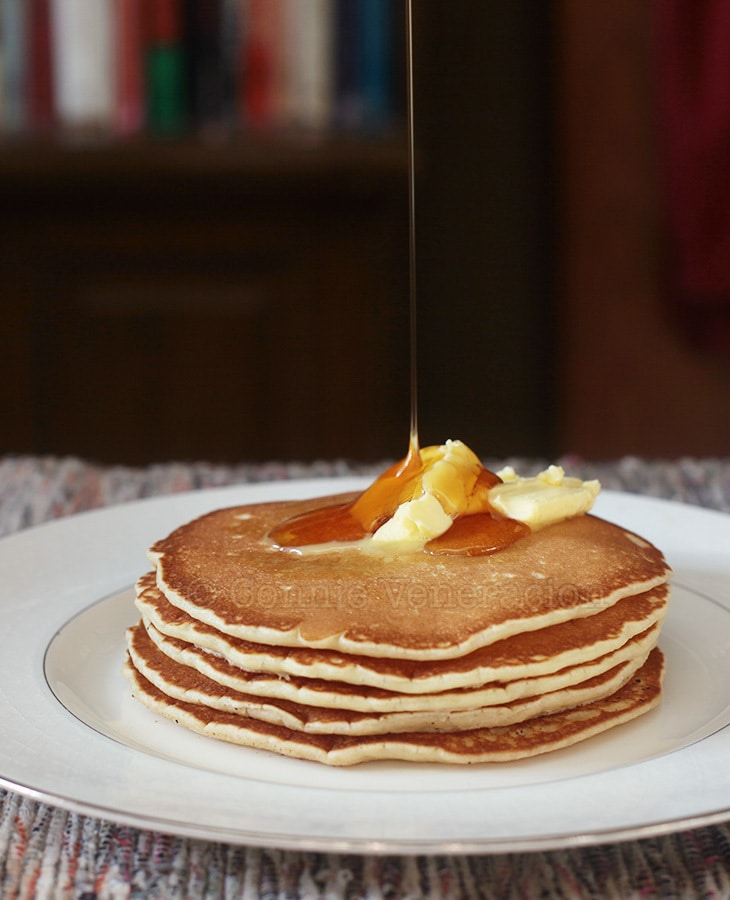 The best pancakes. Ever. From scratch.
