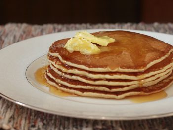 Best pancakes. Ever. From scratch.
