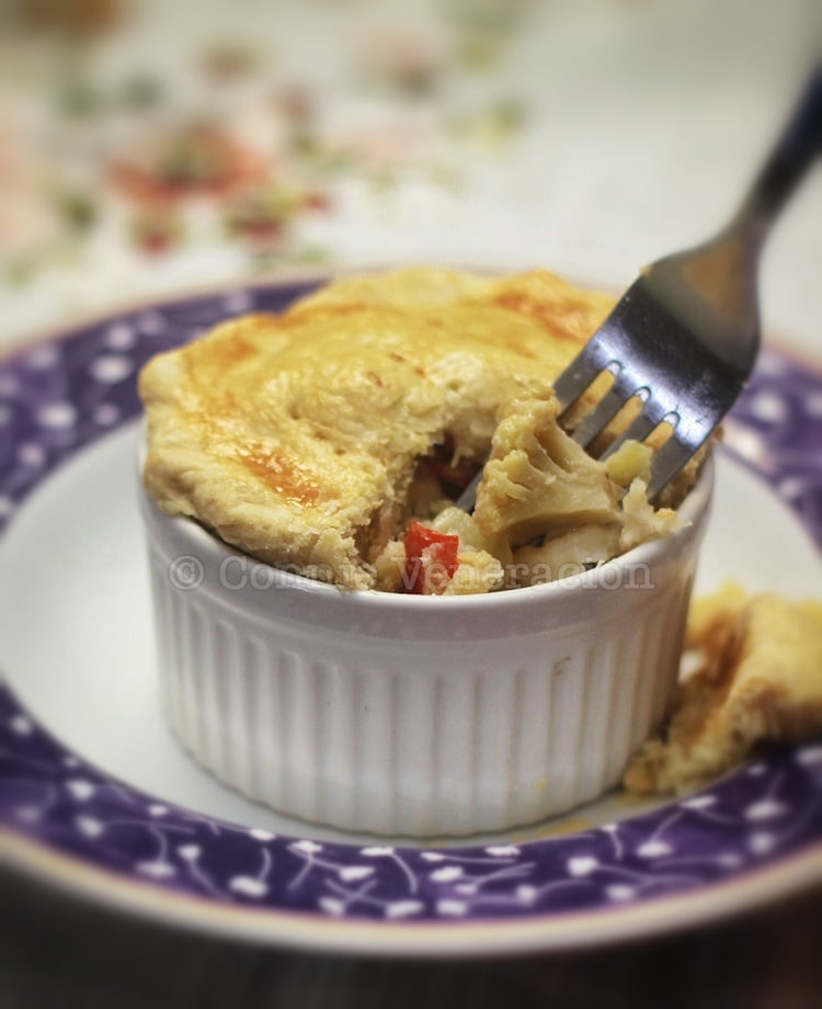 Vegetable pot pie | casaveneracion.com
