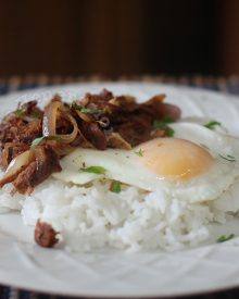 How to cook vegetarian tapsilog