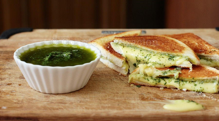 Grilled cheese and pesto sandwiches. Take a break from the usual.   casaveneracion.com