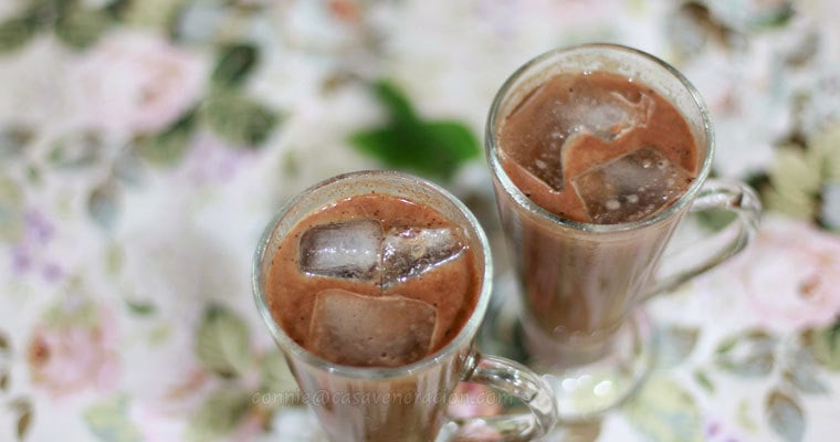Four of my favorite things in the world come together in this spiced coffee cocktail drink. Chocolate, coffee, Kahlua Coffee Liqueur and Bailey's Irish Cream.