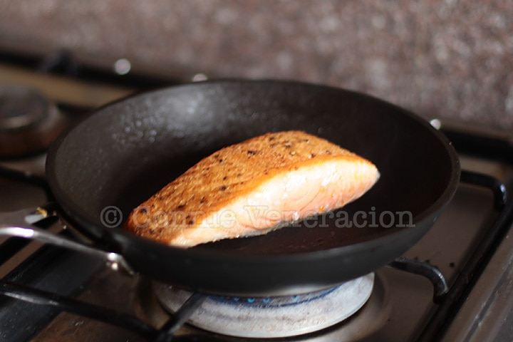 how to cook scotch fillet in pan