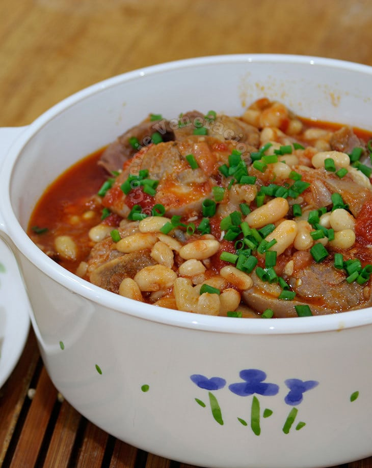 Pork and Beans Stew