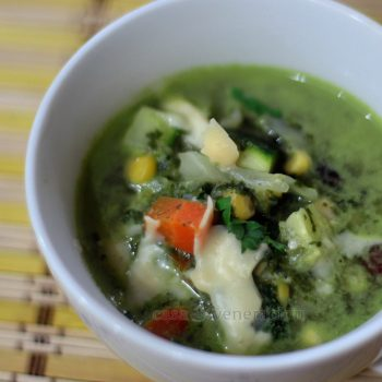Chunky Spinach Soup