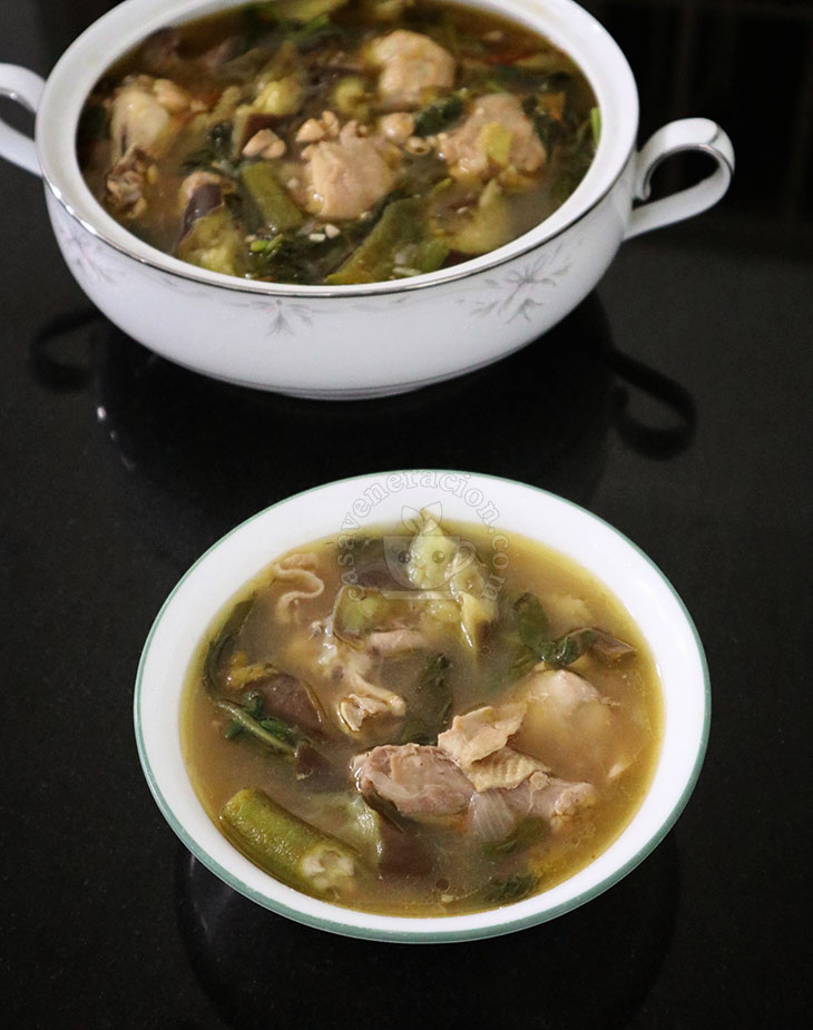 Chicken singang recipe