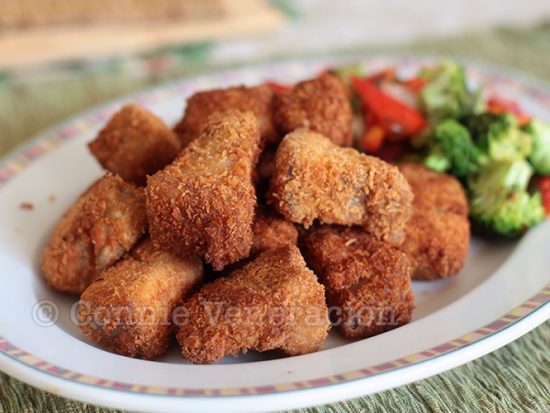 Liempo (pork belly) nuggets