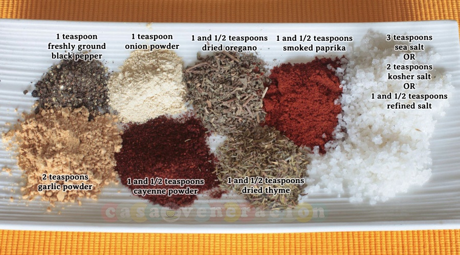 Make your own Cajun spice mix