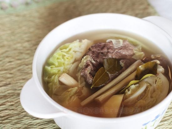 It was by accident that I discovered how to make the tastiest broth