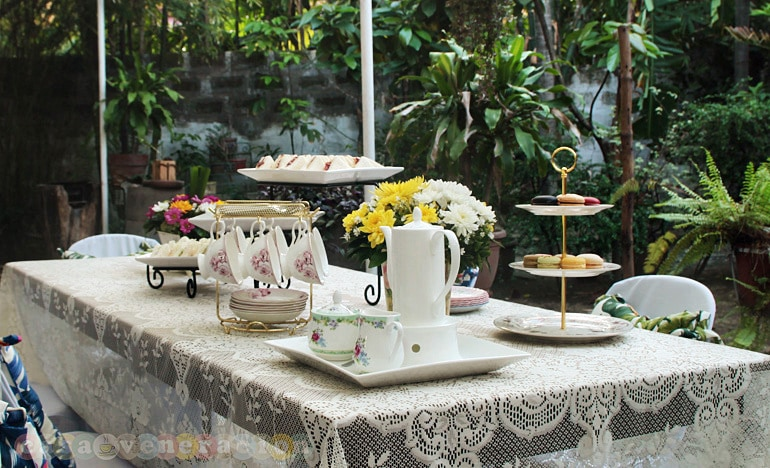 The afternoon tea that spilled over into high tea | casaveneracion.com