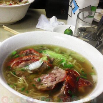 Noodle soups and dumplings at Wai-ying in Manila's Chinatown
