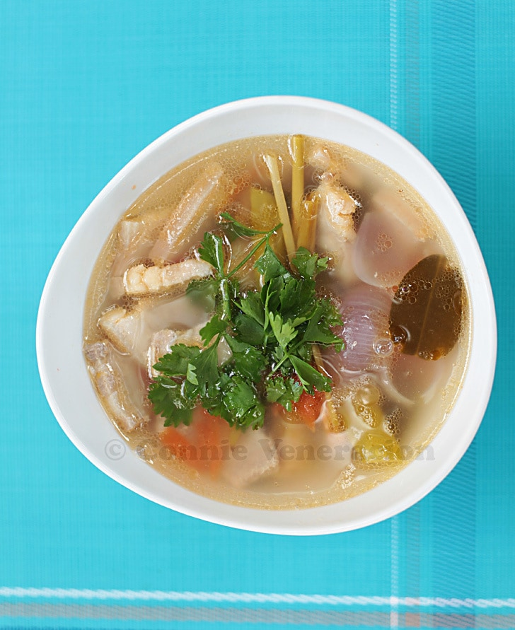 Tom yum soup: Thai flavors in a bowl