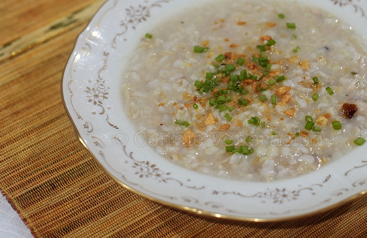 Cooking congee with brown rice | casaveneracion.com