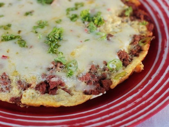 Pinoy torta, re-imagined, with cheese and chilies