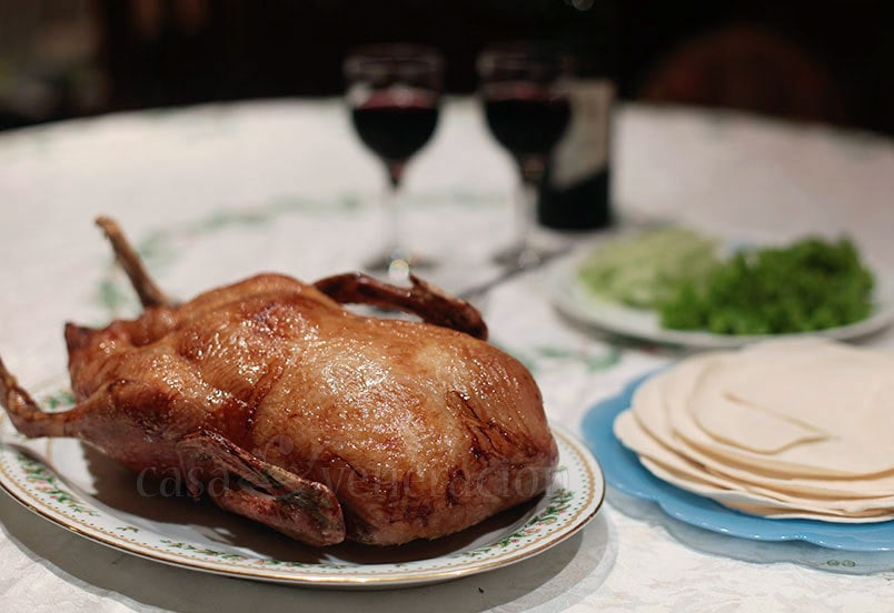 Roast Duck With Orange Lime Honey Glaze