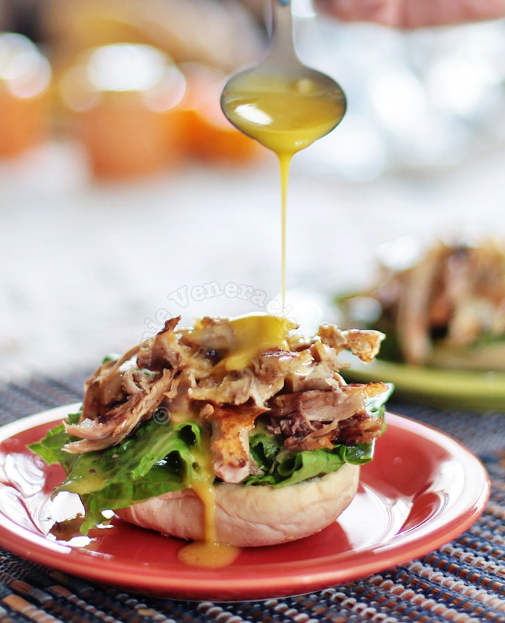 Hollandaise Chicken Sandwich