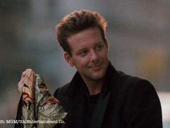 My daughter couldn't believe that Mickey Rourke used to be good-looking