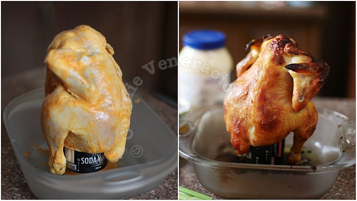Soda Can Roast Chicken