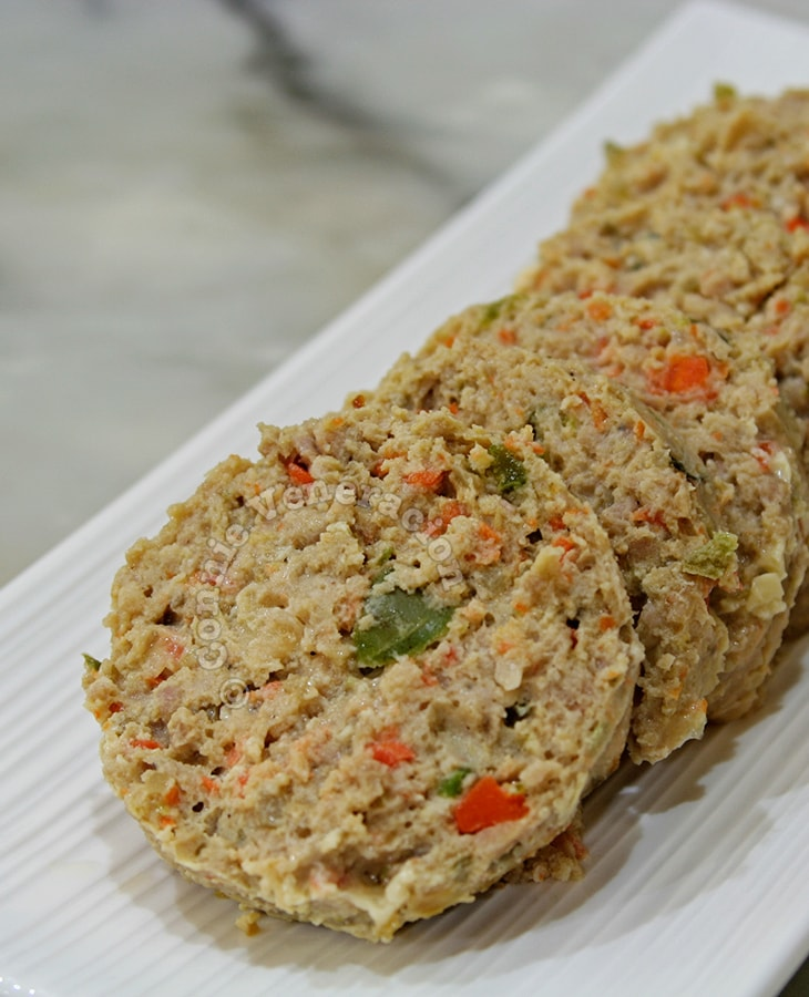 Chicken Meatloaf (Embutido)