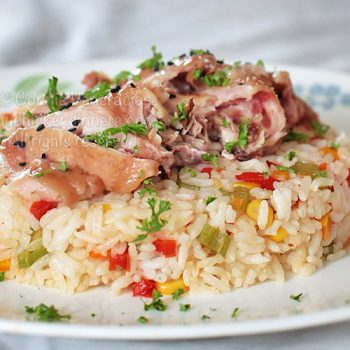 Chicken Ham Rice