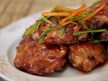 Honey Ginger Chicken, Vietnamese-style