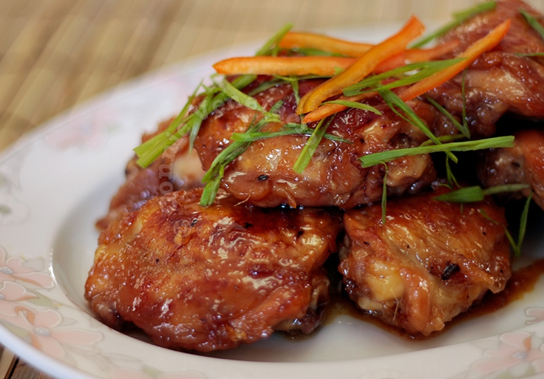 Honey Ginger Chicken, Vietnamese-style | casaveneracion.com