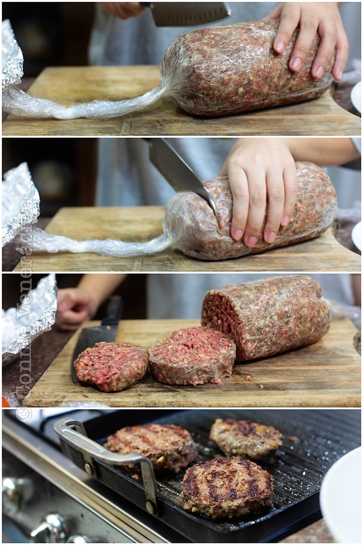 The smart (and easy) way to form uniformly-sized and shaped burgers