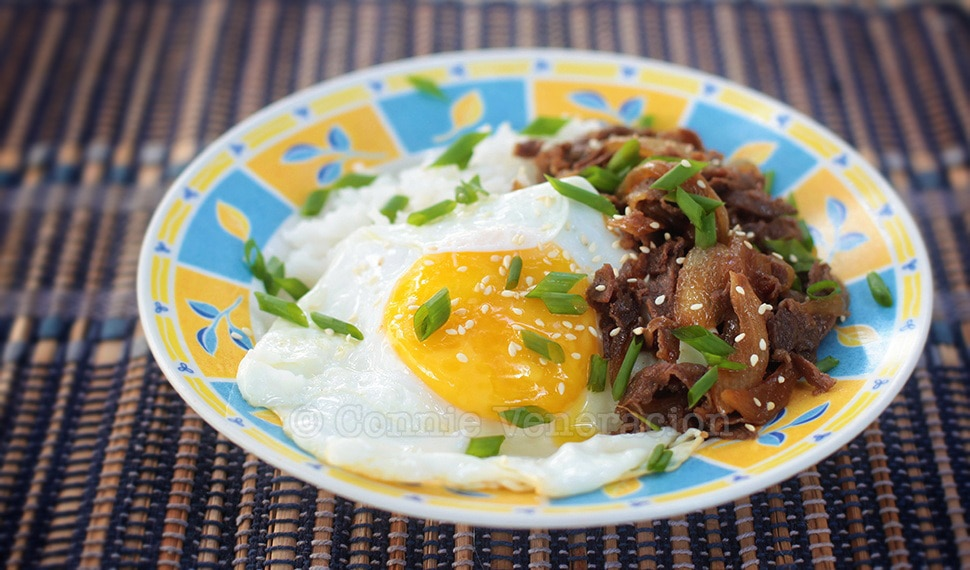 Gyudon for lunch: ready in 15 minutes | casaveneracion.com