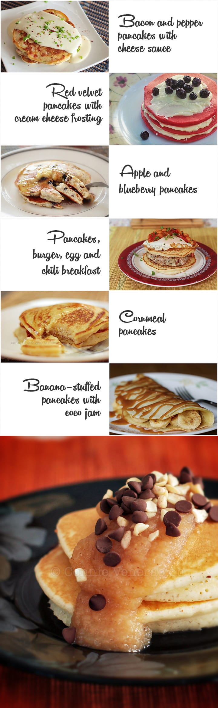 7 ways to breathe new life into good old-fashioned pancakes